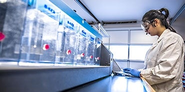 Jar Testing at HDR's Applied Research and Engineering Center (AREC) | One Water Institute