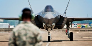 HDR Helps Prepare Eielson AFB for the F-35