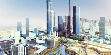 Kingdom City Master Plan | Jeddah Saudi Arabia