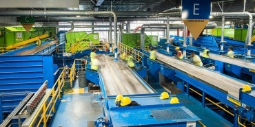 Material Recovery Facility (MRF) Sorting Floor