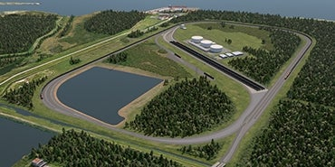 USD Bulk Liquids Terminal Rendering at Port Arthur, TX