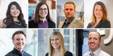 Seven HDR engineers among top young professionals in 2021 regional lists