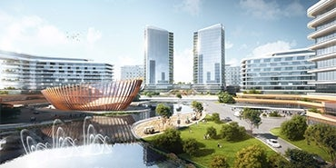Nature Leads Design of New Cancer Hospital in Shaoxing