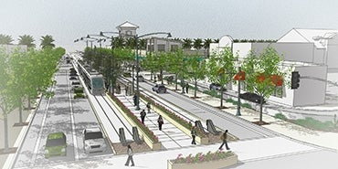 valley metro south central extension early design concept