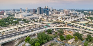 Orlando highways interchange