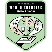 fast company world changing ideas badge