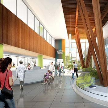 Teck Acute Care Centre BC Children's and Women's Hospital Rendering