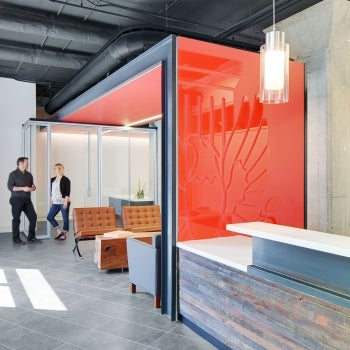 American Institute of Architects Nebraska Office Redesign Lobby Key Thumbnail