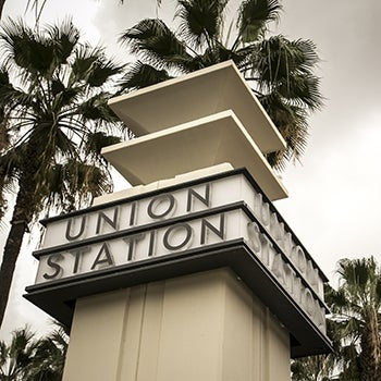 Los Angeles Union Station Sign