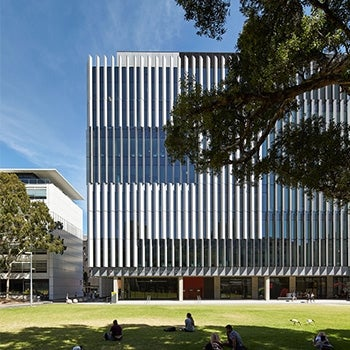 Materials Science and Engineering Building, University of New South Wales Partial Elevation