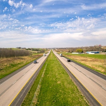 I-80 Iowa Highway