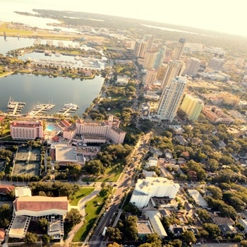 Pinellas County Florida Aerial