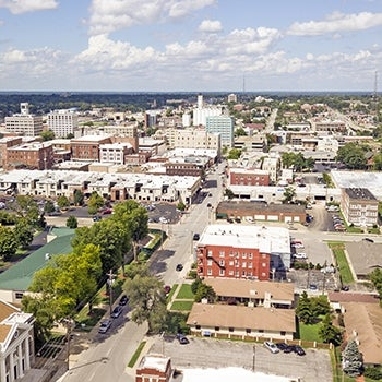 Springfield Missouri aerial | Integrated Plan for the Environment