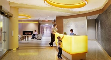 Allina Health United Hospital Experience Design