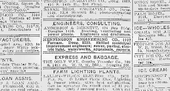 Classifieds 1917