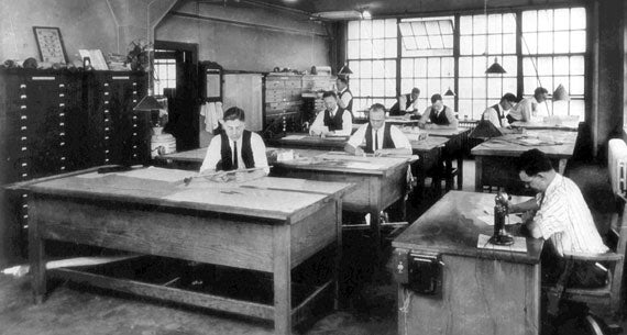 Henningson Drafting Room